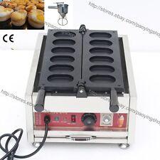Commercial Nonstick Electric Korean Egg Cake Gyeranbbang Machine Maker w/ Tool