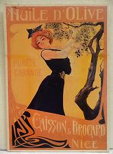 CPM REPRODUCTION AFFICHE ANCIENNE / HUILE D'OLIVE CAISSON / A. GIMELLO