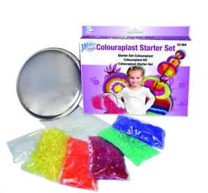 Schmelzgranulat Colourplast Starter Set Kunststoffgranulat Granulat schmelzen