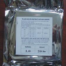 20pcs Dental Lab Splint Thermoforming Material for Vacuum Forming Hard 1.0mm