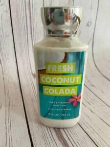 BATH & BODY WORKS BODY LOTION 8 Fl oz. - FRESH COCONUT COLADA Sealed