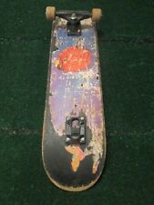 """Skate Nash Vintage Skateboard 29"""" x 7"""" Only One Truck Shows Use Chips & Grind"""