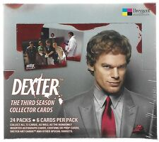 Dexter Season 3 Trading Card Factory Sealed Hobby Box