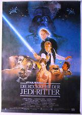 STAR WARS Die Rückkehr der Jedi-Ritter - Original Filmplakat DIN A0 (gerollt)