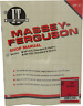 Massey Ferguson Models MF1010 MF1020 Shop Manual MF-47