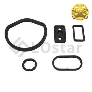 Oil Filter Housing Seal Seals Kit 5pcs 1121840261 For Mercedes W203 W208 W209