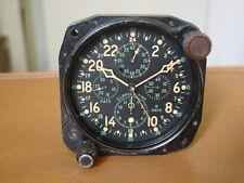 WW2 Era Hamilton Aircraft Clock / Chronograph .... H 37500 ... 5 Dial Clock !