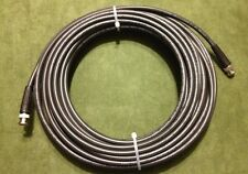 New 100' Belden 1694A SDI-HDTV, RG6 Digital Video BNC Male to Male Cable Black