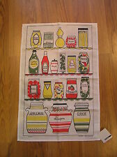 Dishtowel with Kitchen Cabinet