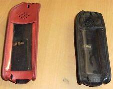 Sony Ericsson 628 688 NOIR ou ROUGE Cuir Housse De Téléphone Portable