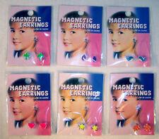 24 GLOW IN THE DARK MAGNETIC EARRINGS magnet earring