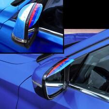 Hi Viz 3D M Styling Rain Eyebrow Board Rain Remover Mirror Cover Car Accessories