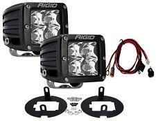 RIGID LED Fog Light Kit w/ D-Series PRO lights for Toyota Tundra Tacoma 46530
