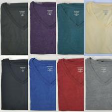Roundtree & Yorke Soft Washed V-Neck / Crew T-Shirt Mens XLT 3XT 4XB 4XT