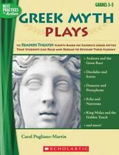 GREEK MYTH PLAYS, GRADES 3-5 - PUGLIANO-MARTIN, CAROL - NEW PAPERBACK BOOK