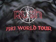 RUSH 1983 WORLD TOUR ORIGINAL US PROMOTERS JACKET  XL