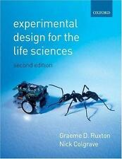 Experimental Design for the Life Sciences-ExLibrary