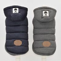 Dog Jacket Winter Warm Soft Cotton Padded Cat Pet Puppies Clothes Accessories