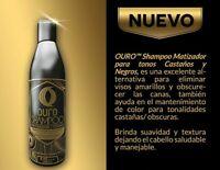 Shampoo Black, Ouro matizador Negro 8.45 oz