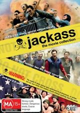 Jackass The Movie Collection 3 X DVDs 2009