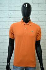 LACOSTE Polo Uomo Taglia 4 ( L ) Maglia Casual Camicia Herrenhemd Chemise Shirt
