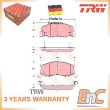 FRONT DISC BRAKE PAD SET FOR TOYOTA PREVIA TCR2 TCR1 TRW 0446528340000 GDB3157