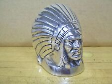 Indian Chief Motorcycle Fender Car Hood Ornament Mascot