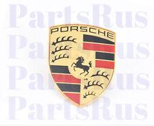 Genuine Porsche Hood Crest Emblem Front Center 9P1853601