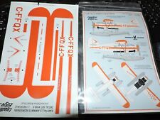 LEADING EDGE 1/48th SCALE   EAR FALLS AIRWAYS NORSEMAN DECALS  #48-4