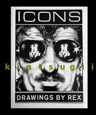 Rare ICONS Drawings Rex vtg 1977 Beefcake Leather male gay fetish Werk Art NEW