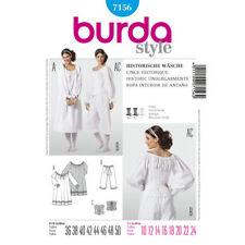 Burda SEWING PATTERN 7156 Costume Chemise,Bloomers & Corset