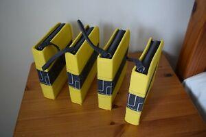 4 X Ikea Portable Compact Disc Cases 20 Non Stick Compartments in Each Case