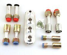 Inline Bulkhead Kit 8006K Heat & A/C with fittings