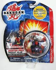 Bakugan WARIUS Darkus Black Battle Brawlers NEW Sealed Pop-Open Toy Figure 2009