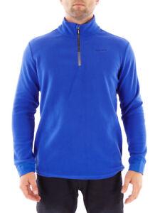 Brunotti Fleece Upper Part Functional Sweater Tenno Blau half-Zip Insulating