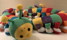 Long  Colorful Caterpillar Plush Rainbow Centipede  Stuffed 4ft   1998