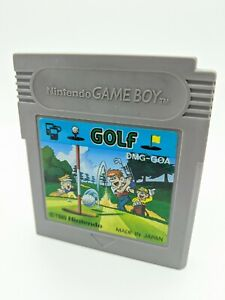 "Golf  for Nintendo Gameboy ""DMG-GOA"" Tested, Original. Japanese version 1989"