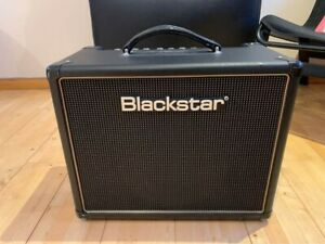 Blackstar HT5 5 watt tube amp Combo amp including zipped cover