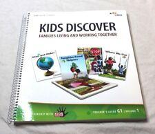 Kids Discover Hmh Harcourt Social Studies Teacher's Edition Grade 1 Volume 1 New