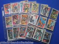 A&BC Batman Bubblegum Cards ( Red Bat )   * Choose The One's You Need *  1966