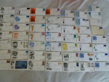 50 STAMP COVER UN LOT 1960S 1970S WATER CONFERENCE UNICEF CHAGALL WINDOW NAMIBIA