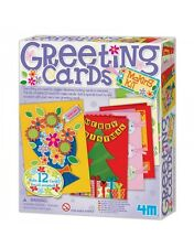 GREETING CARDS MAKING KIT - MAKE YOUR OWN KIDS CRAFT & ACTIVITY KIT 4M TOYS