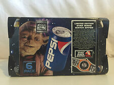 FREE POST vintage promo STAR WARS PEPSI CAN 6 PACK VERY RARE DISPLAY ARTWORK .2