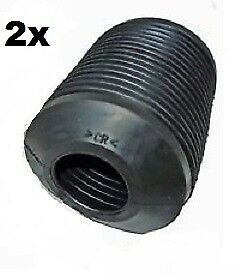 2X  ALFA ROMEO GTV & SPIDER 2.0 3.0 3.2  Front Shock Absorber Rubber Boot Gaitor