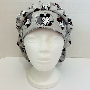 women surgical cap/hat - Mickey And Minnie Mouse heads