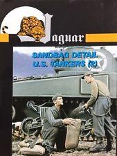 Jaguar 1/35 Sandbag Detail U.S. Tankers (2 Figure Set) - JAG-63023