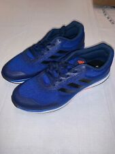 Adidas Mens 11 D/M Running Atheltic Shoes Blue Bounce New W/o Box Performance