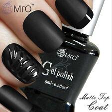 Hot Sales!!! MRO Nail Matte Top Coat Gel Polish Top it Off Soak Off UV LED Salon
