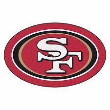 San Francisco 49ers Mascot Decorative Logo Cut Area Rug Floor Mat