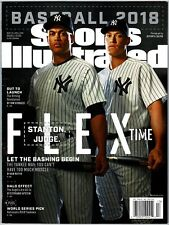 lcw Sports Illustrated Giancarlo Stanton Aaron Judge Yankees Flex 2018 No Label